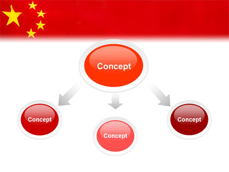 Chinese Flag PowerPoint Template Slide 4