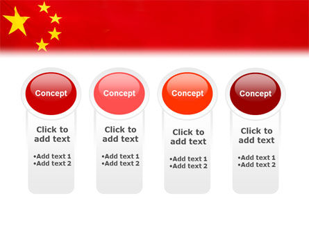 Chinese Flag PowerPoint Template Slide 5