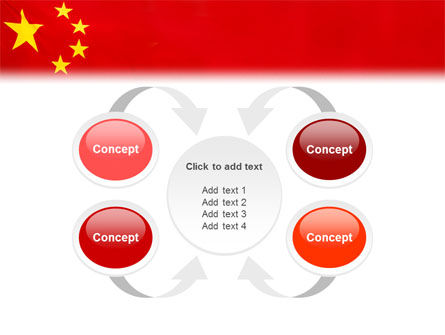 Chinese Flag PowerPoint Template Slide 6