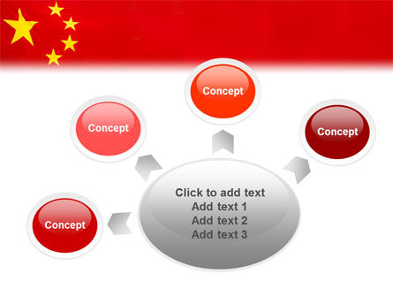 Chinese Flag PowerPoint Template Slide 7