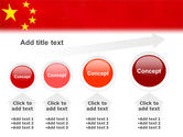 Chinese Flag PowerPoint Template#13