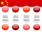 Chinese Flag PowerPoint Template#18