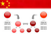 Chinese Flag PowerPoint Template#19