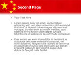 Chinese Flag PowerPoint Template#2