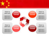 Chinese Flag PowerPoint Template#9