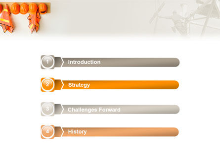 Roadway Maintenance PowerPoint Template, Slide 3, 01889, Careers/Industry — PoweredTemplate.com