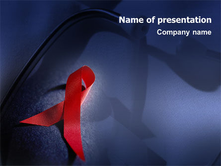 Medical: AIDS PowerPoint Template #01892