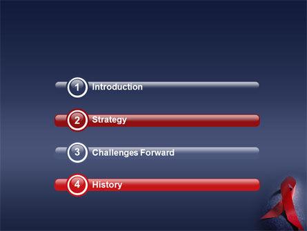 AIDS PowerPoint Template, Slide 3, 01892, Medical — PoweredTemplate.com