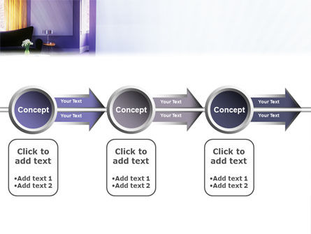 Interior In Violet PowerPoint Template Slide 11