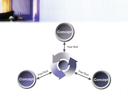 Interior In Violet PowerPoint Template Slide 12