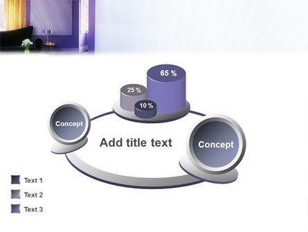 Interior In Violet PowerPoint Template Slide 13