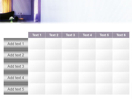 Interior In Violet PowerPoint Template Slide 15