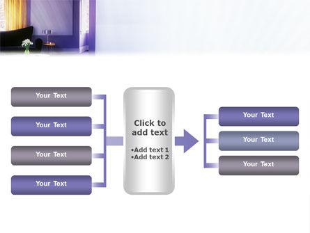 Interior In Violet PowerPoint Template Slide 16