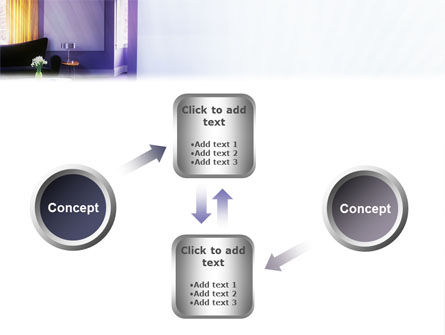 Interior In Violet PowerPoint Template Slide 19