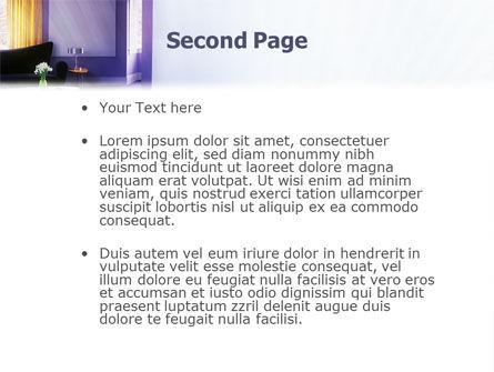 Interior In Violet PowerPoint Template, Slide 2, 01896, Careers/Industry — PoweredTemplate.com