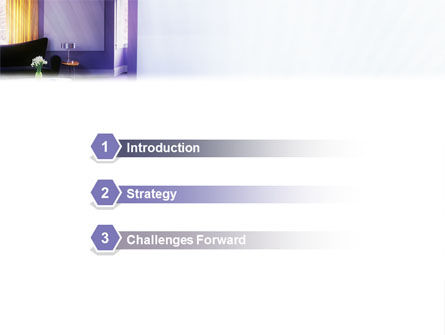 Interior In Violet PowerPoint Template Slide 3