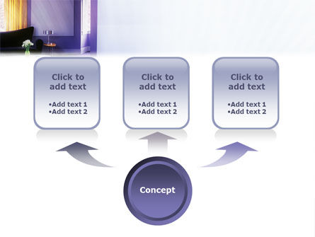 Interior In Violet PowerPoint Template, Slide 4, 01896, Careers/Industry — PoweredTemplate.com
