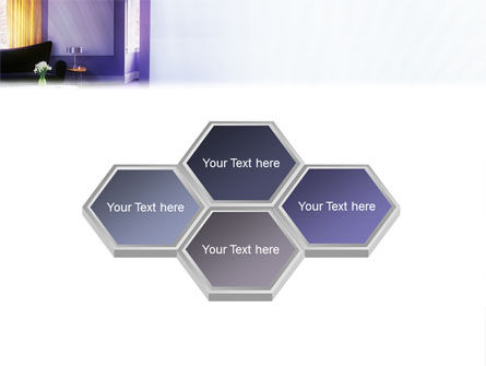 Interior In Violet PowerPoint Template Slide 5