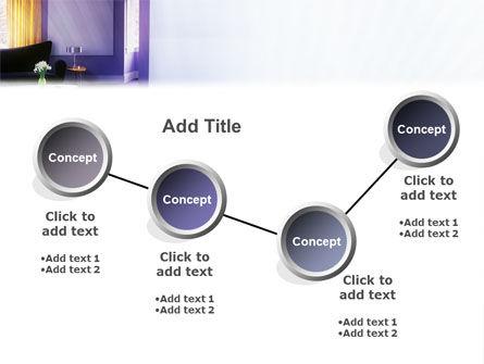 Interior In Violet PowerPoint Template Slide 6
