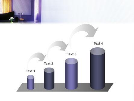 Interior In Violet PowerPoint Template Slide 7