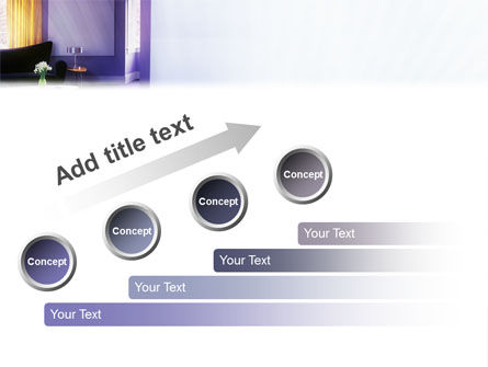Interior In Violet PowerPoint Template Slide 9