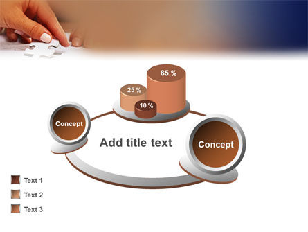Puzzle PowerPoint Template Slide 13