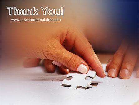 Puzzle PowerPoint Template Slide 20