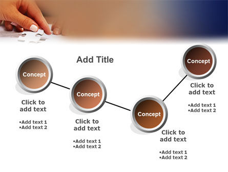 Puzzle PowerPoint Template Slide 6