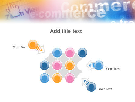 E-Commerce In Pink-Blue-Yellow Palette PowerPoint Template Slide 10