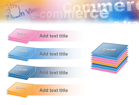 E-Commerce In Pink-Blue-Yellow Palette PowerPoint Template Slide 11