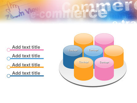 E-Commerce In Pink-Blue-Yellow Palette PowerPoint Template Slide 12