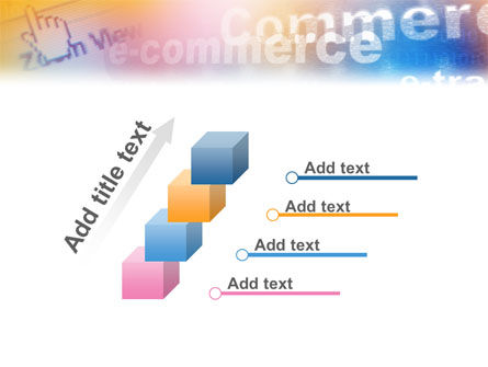 E-Commerce In Pink-Blue-Yellow Palette PowerPoint Template Slide 14