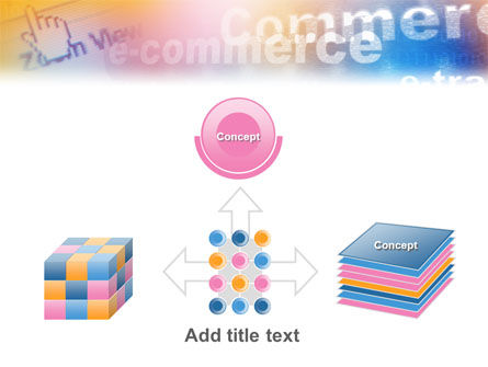 E-Commerce In Pink-Blue-Yellow Palette PowerPoint Template Slide 19
