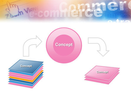 E-Commerce In Pink-Blue-Yellow Palette PowerPoint Template Slide 4
