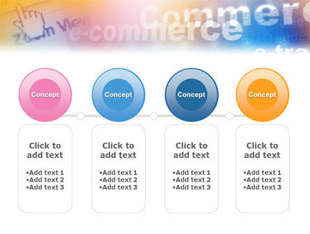 E-Commerce In Pink-Blue-Yellow Palette PowerPoint Template Slide 5