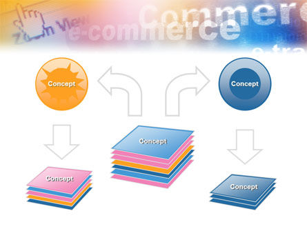 E-Commerce In Pink-Blue-Yellow Palette PowerPoint Template Slide 6