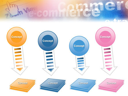 E-Commerce In Pink-Blue-Yellow Palette PowerPoint Template Slide 8