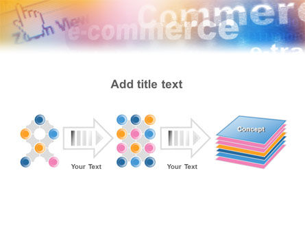 E-Commerce In Pink-Blue-Yellow Palette PowerPoint Template Slide 9