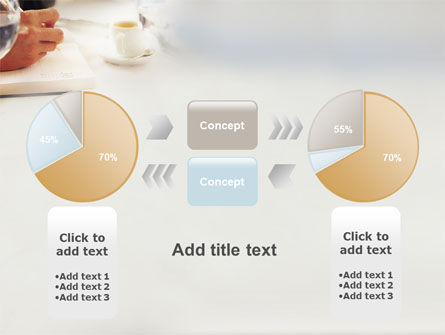 Business Lunch PowerPoint Template Slide 11