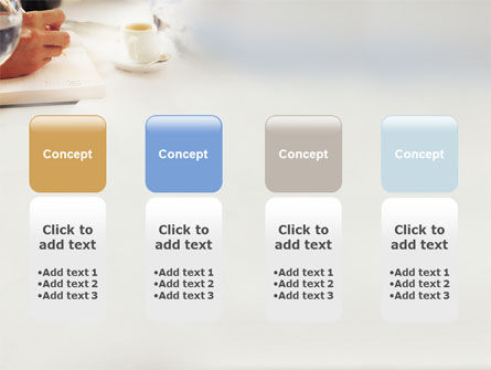 Business Lunch PowerPoint Template Slide 5