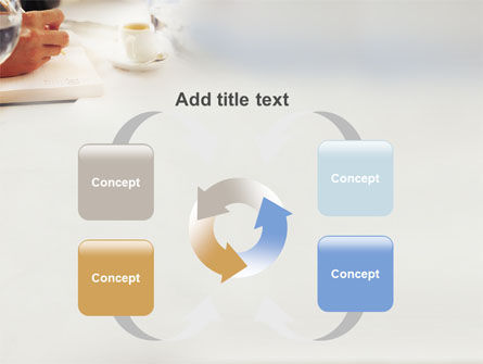 Business Lunch PowerPoint Template Slide 6