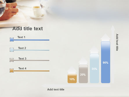 Business Lunch PowerPoint Template Slide 8