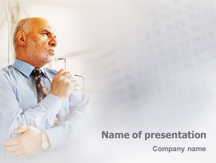 Financial Analytic PowerPoint Template, 01910, Business Concepts — PoweredTemplate.com