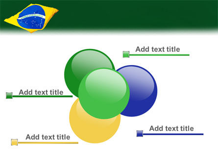 Brazilian Flag PowerPoint Template Slide 10
