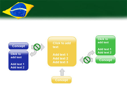 Brazilian Flag PowerPoint Template Slide 13