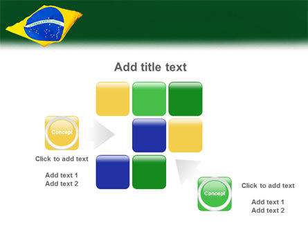 Brazilian Flag PowerPoint Template Slide 16