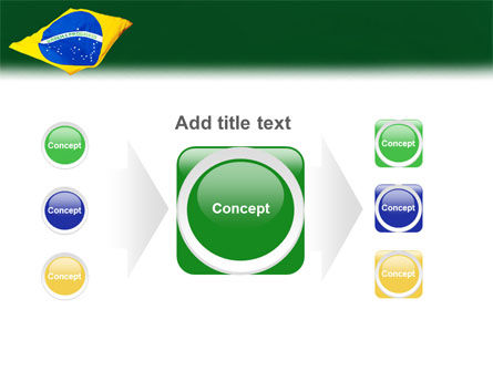 Brazilian Flag PowerPoint Template Slide 17