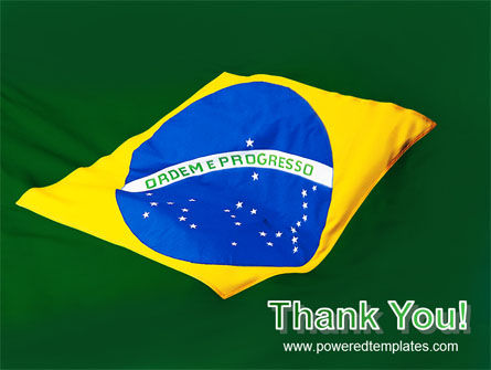 Brazilian Flag PowerPoint Template Slide 20