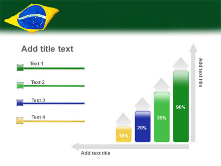 Brazilian Flag PowerPoint Template Slide 8