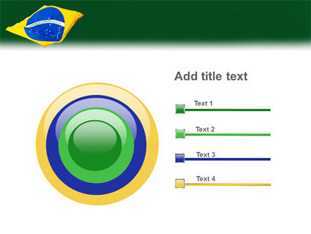 Brazilian Flag PowerPoint Template Slide 9